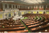 Postcard, Hall of Representatives