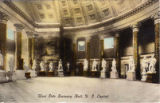 Postcard, West Side Statuary Hall, U.S. Capitol