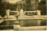 Postcard of the Monument to Empress Elisabeth, Vienna