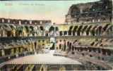 Postcard, Interno del Colosseo