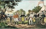 Postcard, Surrender of Burgoyne, Saratoga