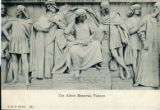 Postcard, The Albert Memorial, Painters