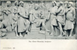 Postcard, The Albert Memorial, Sculptors