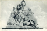 Postcard, The Albert Memorial, Asia