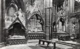 Postcard, Tombs in Sanctuary, Westminster Abbey