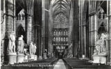 Postcard, Transepts looking South, Westminster Abbey
