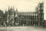 Postcard, North Side, Westminster Abbey