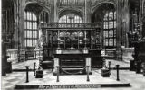 Postcard, Altar in Chapel of Henry VII, Westminster Abbey