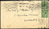 Envelope from Cobden-Sanderson's letter to Marken, 1917 July 14