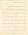 John Jacob Astor letter to Andrew Daschkoff, 1813 April 5