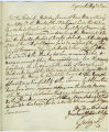 George III letter, 1800 August 13