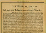 Reproduction of Declaration of Independence