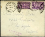 Envelope from Hersholt's letter to Drake, 1935 March 11