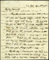 Washington Irving letter, 1835 April 8