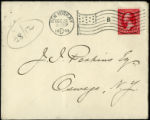 Envelope from letter to Perkins, 1899 December 26
