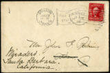 Envelope from letter to Perkins, 1906 June 27