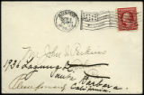 Envelope from letter to Perkins, 1909 October 1