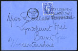 Envelope from Sackville's letter to Kenmare, 1950 March 9
