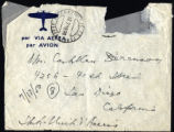 Envelope from Berenson's letter to Castellan Berenson dated 1950 July 17
