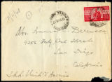 Envelope from Berenson's letter to Castellan Berenson dated 1948 November 11