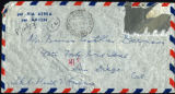 Envelope from Berenson's letter to Castellan Berenson dated 1953 August 12