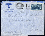 Envelope from Berenson's letter to Castellan Berenson dated 1949 July 13