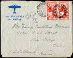 Envelope from Berenson's letter to Castellan Berenson dated 1949 November 14