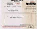 Purchase Order for Charles Warren Stoddard letters