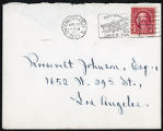 Envelope from Sterling's letter to Johnson, 1926 January 13