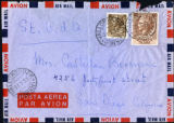 Envelope from Berenson's letter to Castellan Berenson dated 1953 March 17
