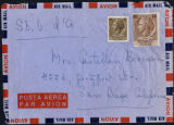 Envelope from Berenson's letter to Castellan Berenson