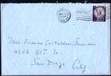 Envelope from Berenson's letter to Castellan Berenson dated 1958 March 19