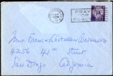 Envelope from Berenson's letter to Castellan Berenson dated 1957 February 8