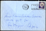 Envelope from Berenson's letter to Castellan Berenson dated 1957 May 24