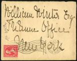 Envelope from Winslow's letter to Winter, 1897 January 29