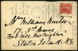 Envelope from letter to Winter, 1903 November 17
