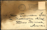 Envelope from Bierce's letter to Cowden, 1909 August 8