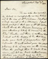 Joanna Baillie letter to Henry Siddons, 1815 February 6