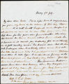 Mrs. Henry Siddons letter to her daughter