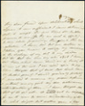 Fanny Kemble letter to Reverend William Henry Furness