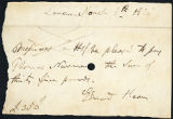 Edmund Kean bank draft, 1825 March 8