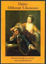 Thirty different likenesses - David Garrick in portrait and in performance