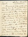 David Garrick letter to George Garrick, 1772