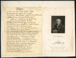 David Garrick prologue and engraving