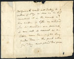 David Garrick letter to Mr. Hartson