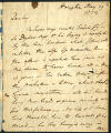 David Garrick letter to Robert Jephson, 1772 May 19