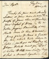 David Garrick letter to Captain Edward Thompson, 1772 July 18