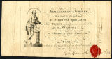 Shakespeare Jubilee ticket no. 54