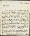 Catherine Clive letter to Mrs. Racket, 1779 July 18