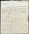 Catherine Clive letter, 1779 January 28